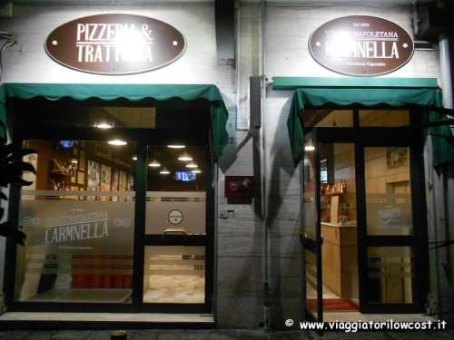 Pizzeria Carmnella Napoli Centro vicino stazione