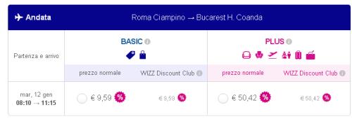 voli economici Romania Roma Bucarest
