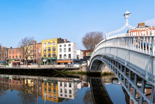 Voli per Dublino promo sconto del 25%