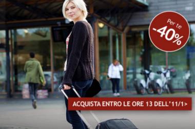 Biglietti Italo con sconto del 40%