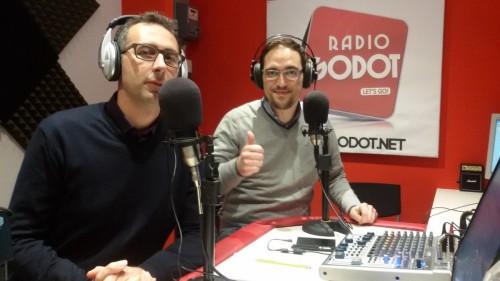 Nicola Spina Travel Blogger a Radio Godot