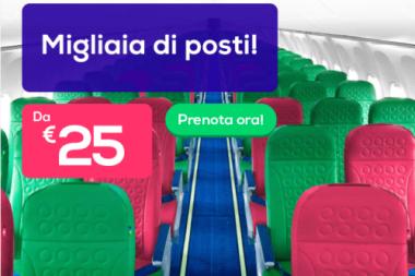 voli economici per la Francia di Transavia
