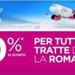 Wizzair: Voli per le città della Romania con sconto del 20%