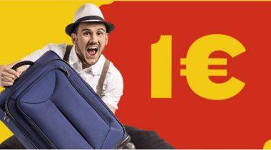 voli low cost a 1€ di Ryanair per il 2016