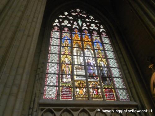 Cosa vedere a Bruxelles Vetrate della Cattedrale