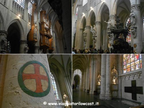 cosa vedere a Bruxelles Cattedrale da visitare
