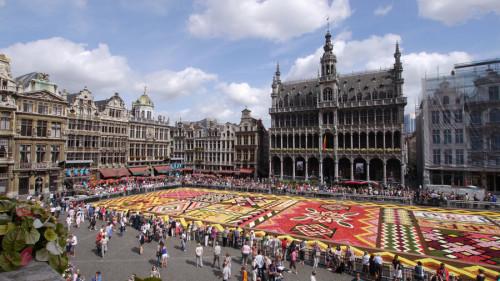 cosa vedere a Bruxelles Infiorata Grand Place