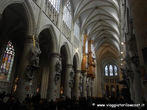 cosa vedere a Bruxelles visitare la Cattedrale