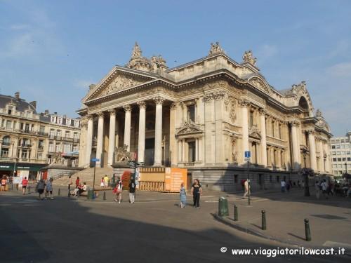 cosa vedere a Bruxelles visitare Palazzo della Borsa