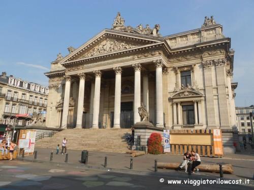 cosa vedere a Bruxelles Palazzo della Borsa
