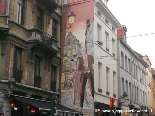 Bruxelles cosa vedere in un giorno itinerario fumetti