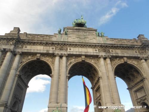 Bruxelles cosa vedere Parco del Cinquantenario da visitare