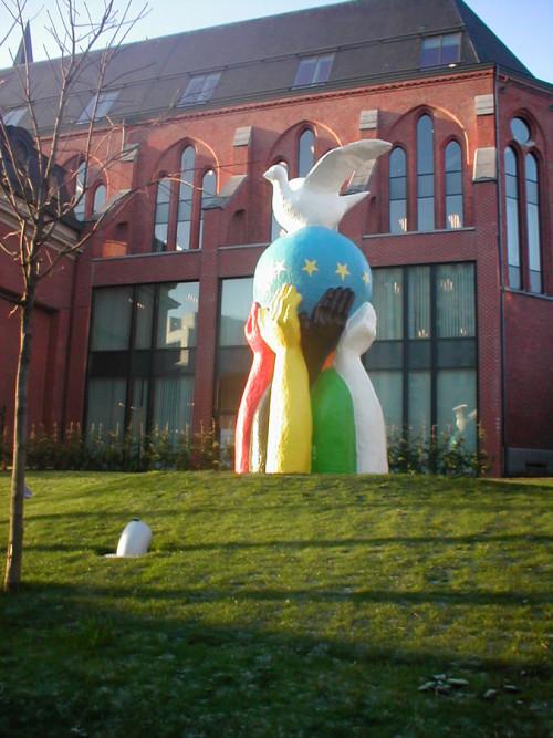 cose da vedere a Bruxelles Statua dell'Europa