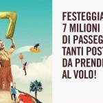 Voli a 7€ per viaggiare low cost in Italia e in Europa