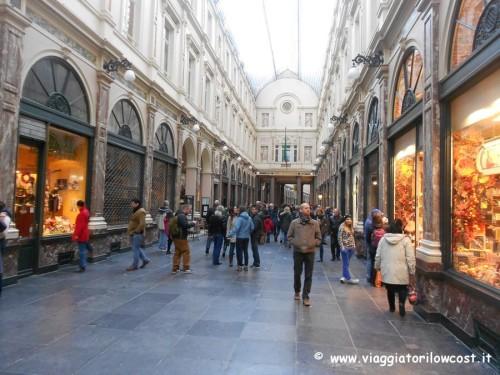 cosa vedere a Bruxelles Gallerie Reali di Sant'Uberto