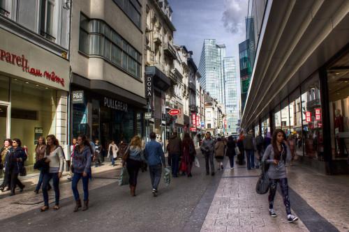 cosa vedere a Bruxelles shopping a Rue Neuve