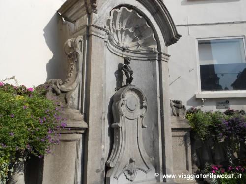 cosa vedere a Bruxelles il simbolo Manneken-Pis