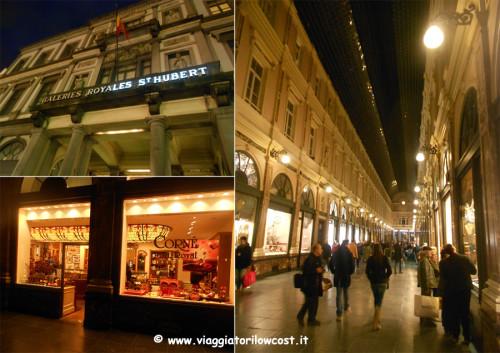 cosa vedere a Bruxelles Gallerie Reali di sera