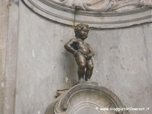 cosa vedere a Bruxelles visitare Manneken-Pis