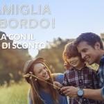 Codice Alitalia: 25% di sconto se viaggi con la famiglia