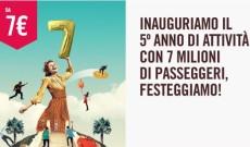 Voli Volotea a 7€ per viaggi nazionali ed europei