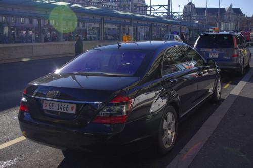 Come arrivare dall'aeroporto di Ginevra al centro in taxi