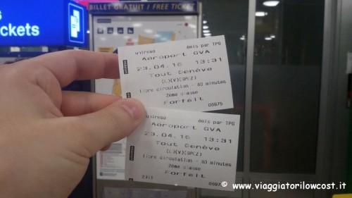 Come arrivare dall'aeroporto di Ginevra al centro biglietti
