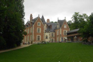 Castello di Clos Lucé nella Valle della Loira