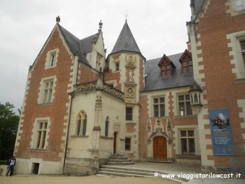 Castelli della Loira Maniero di Clos Lucé
