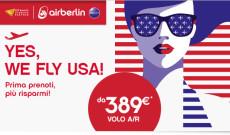 Voli per gli USA da 387€ a persona tasse incluse per il 2016