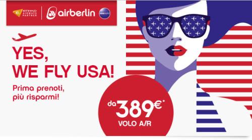 Voli economici USA di Air Berlin