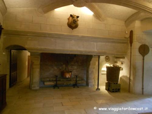 Cucine del Castello di Chenonceau da visitare