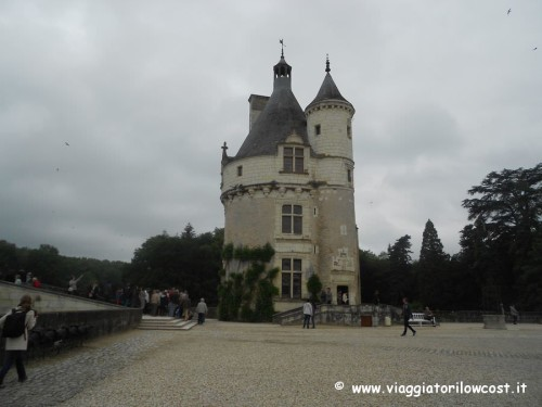Torre dei Marques del Castello di Chenonceau