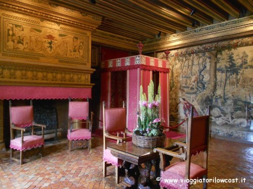 Camere del Castello di Chenonceau da visitare