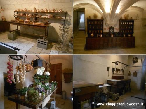Interni del Castello di Chenonceau da visitare