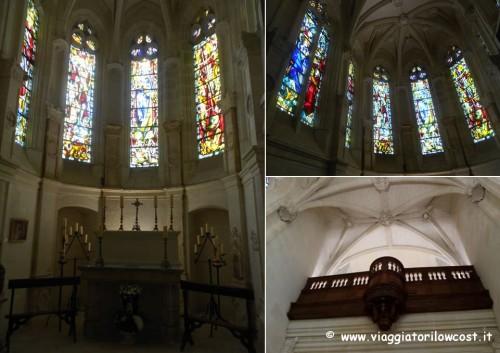 Cappella del Castello di Chenonceau da visitare assolutamente