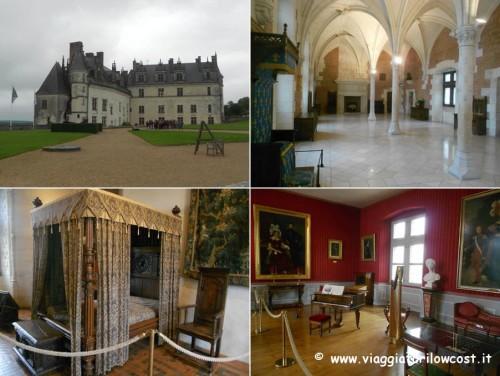 tour castelli della Loira castello reale di Amboise