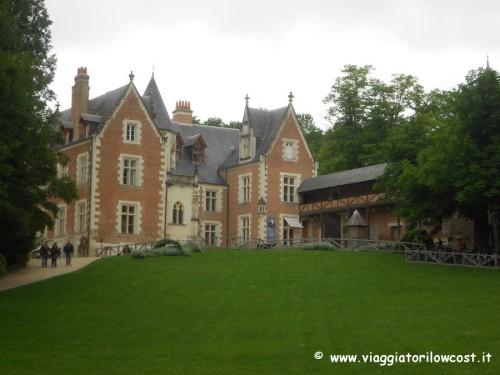 tour castelli della Loira castello di Clos Lucé