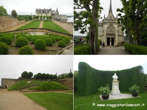 tour castelli della Loira castello di Amboise