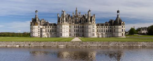 Itinerario Castelli della Loira in auto Castello di Chambord