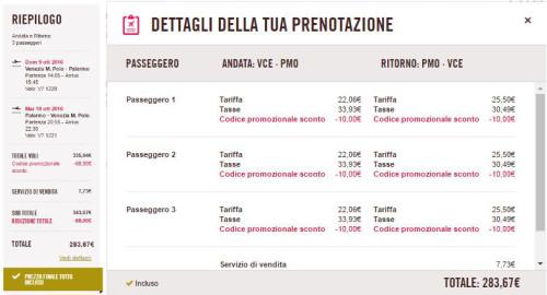 codice Volotea sconto voli low cost 2016