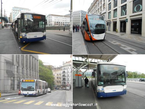 come muoversi a Ginevra in autobus