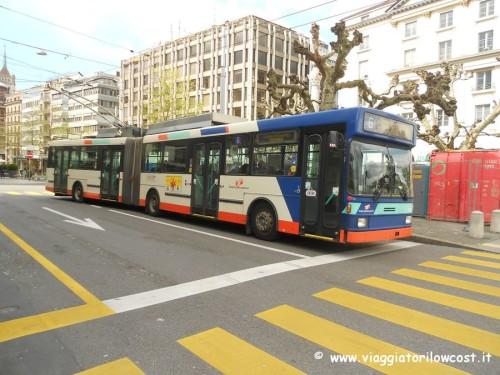 come muoversi a Ginevra linee autobus