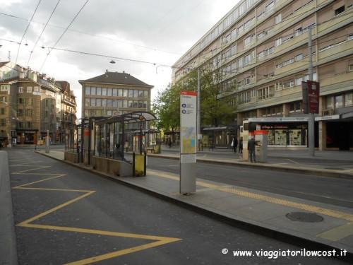 come muoversi a Ginevra trasporto pubblico