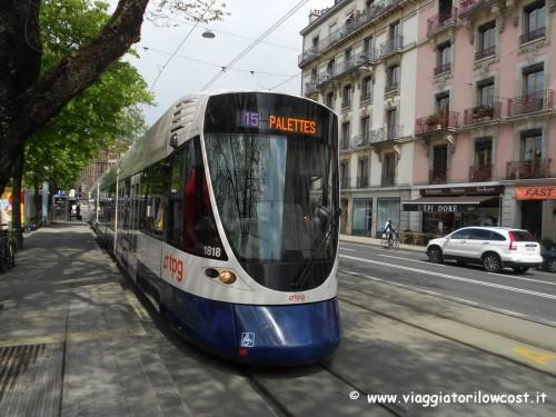 come muoversi a Ginevra in tram