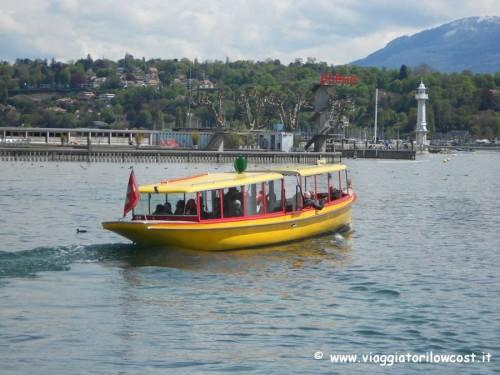 come muoversi a Ginevra battello Lago Lemano