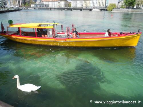 come muoversi a Ginevra barca Lago Lemano