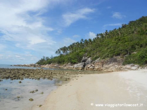 Spiaggia Bottle Beach una delle più belle di Koh Phangan