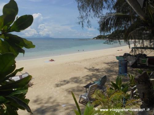 Haad Yao Spiaggia bella di Koh Phangan