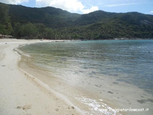 Bellissima spiaggia Bottle Beach Koh Phangan